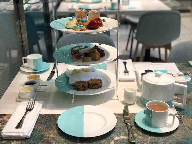 Tiffany Blue Box Cafe afternoon tea