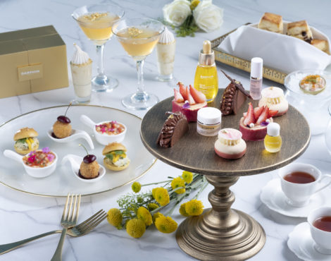 Kerry Hotel x Dauphin A Touch of Gold Afternoon Tea: Through Nov 30