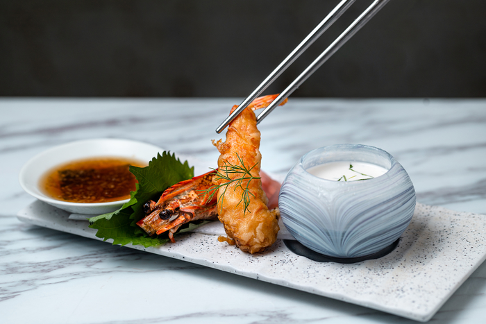 Zeng prawn tempura