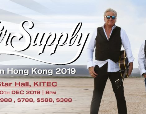 Air Supply Live in Hong Kong: December 10