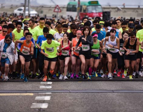 Eat, Play, Run at the Hong Kong Streetathon: January 12