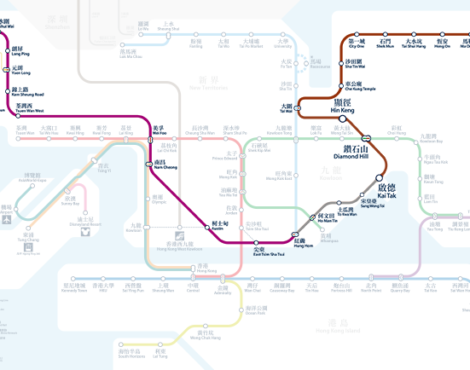 Three new MTR stations open on the Tuen Ma Line this month