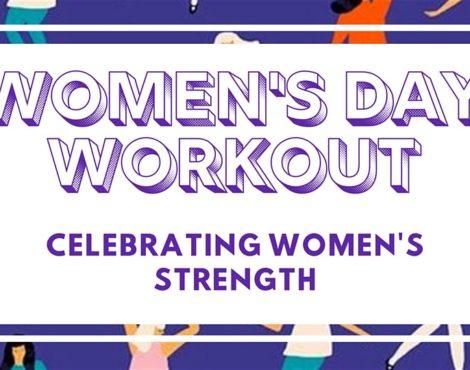 International Women's Day Workout with Kristen Handford: March 8