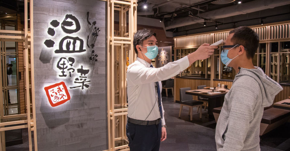 On Yasai takes temperature of diners