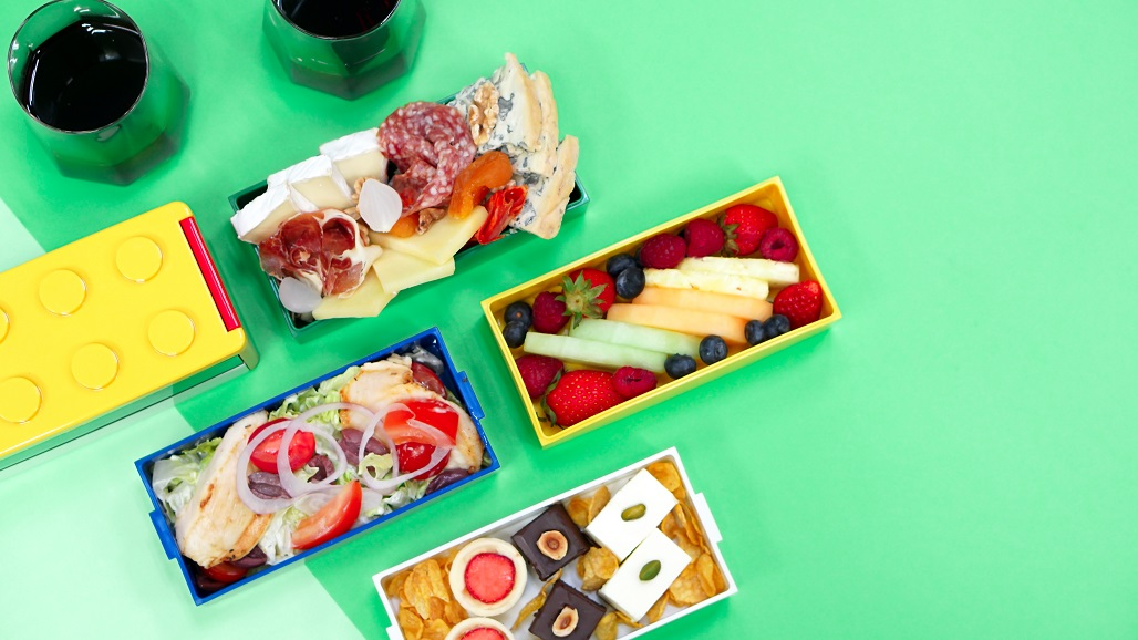 Enjoy a picnic in your room during a Hong Kong staycation at the W