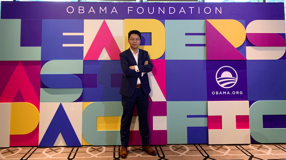 Top Rising Stars - Dan Cheung (Credit: The Obama Foundation)