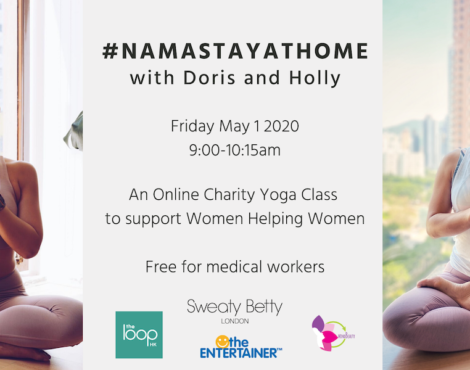 #namastayathome with Doris and Holly 9am May 1 2020
