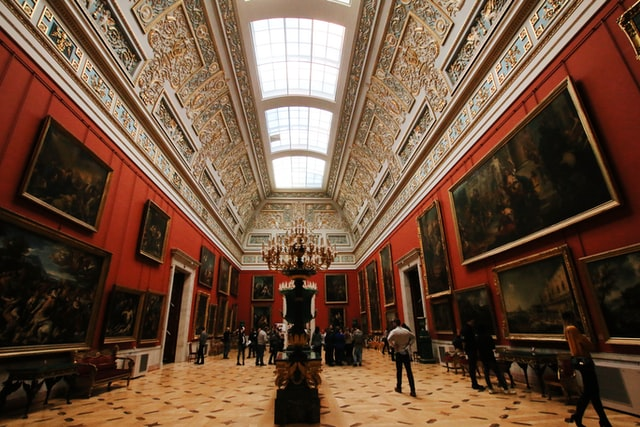 the state hermitage museum is one of the famous museums you can visit online