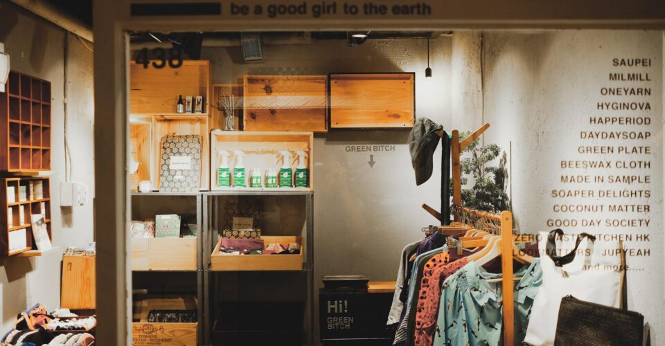 Green Bitch pop-up store