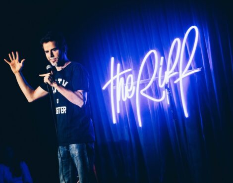 Hot Seat: The Riff's Andy Curtain on Hong Kong's Comedy Scene