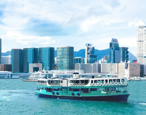 You Can Now Catch a Ride on Hong Kong's First Green Ferry