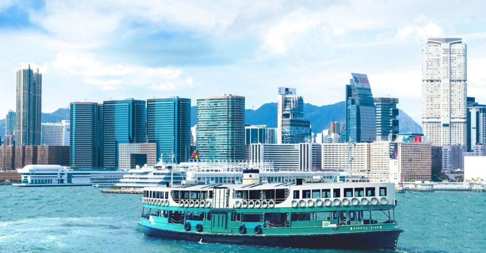 Star Ferry introduces Hong Kong's first green ferry