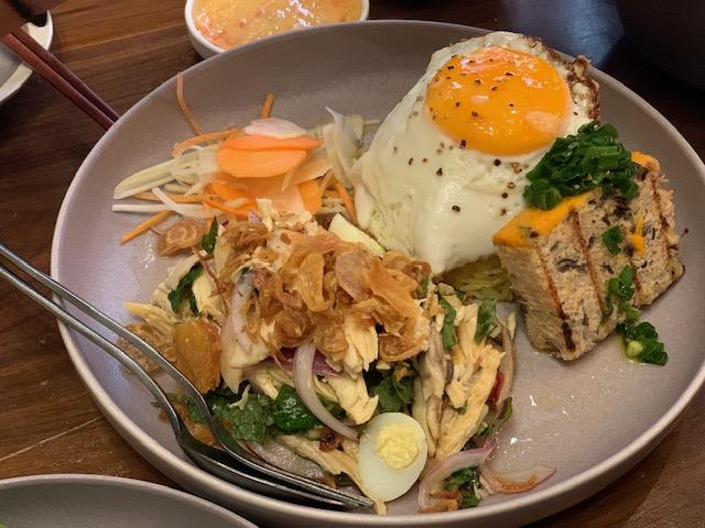 broken chicken rice at Xuân