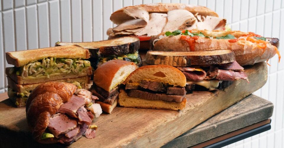 smoke & barrels sandwiches
