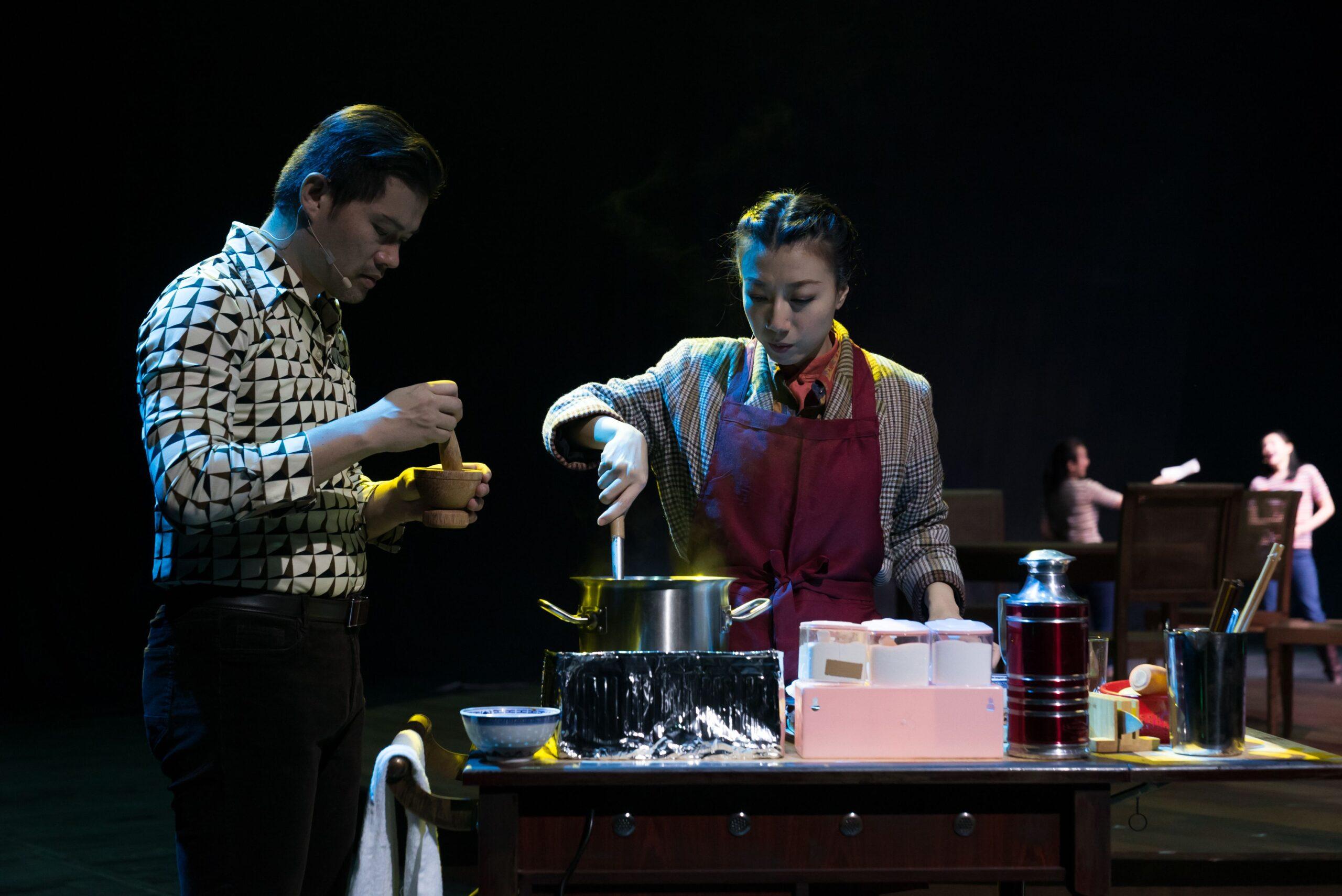 Sweet Mandarin stage performance
