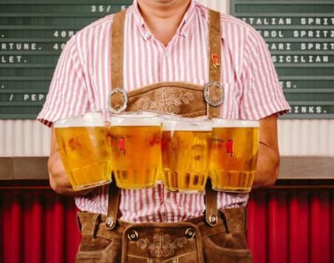Prost! Enjoy an Authentic Oktoberfest at BaseHall: Oct 23-24
