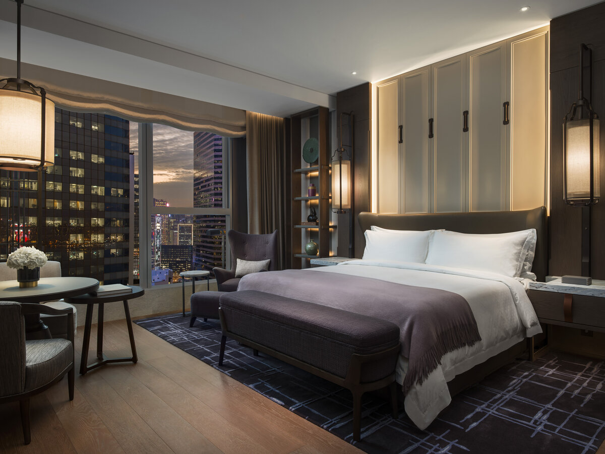 Grand Deluxe Room at The St. Regis Hong Kong
