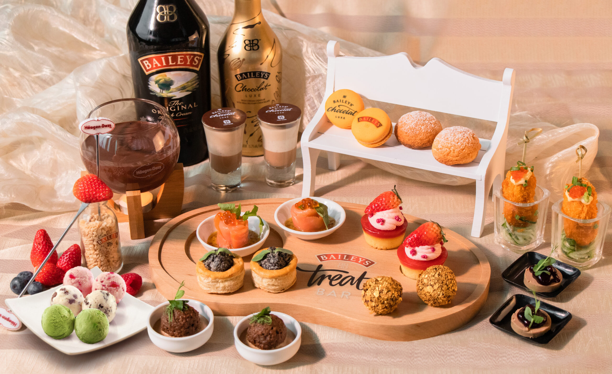 Hotel Icon - Baileys x Häagen-Dazs™ Afternoon Tea