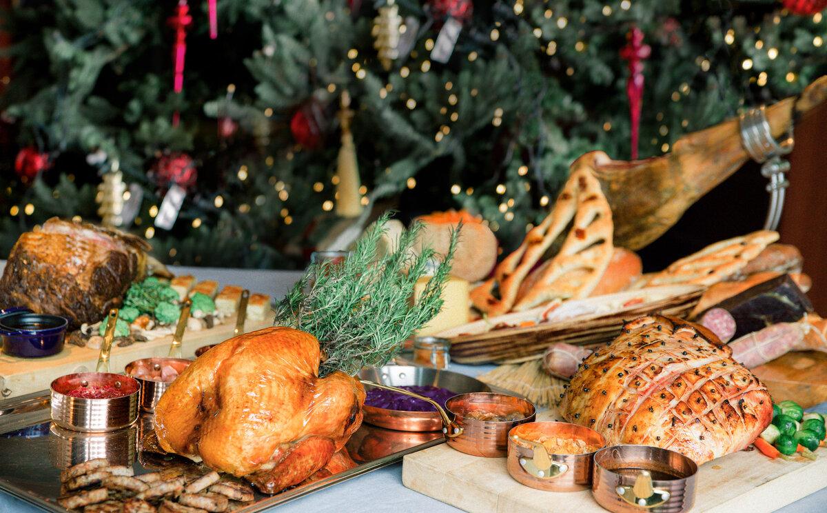 four seasons festive shop roast turkey takeaway