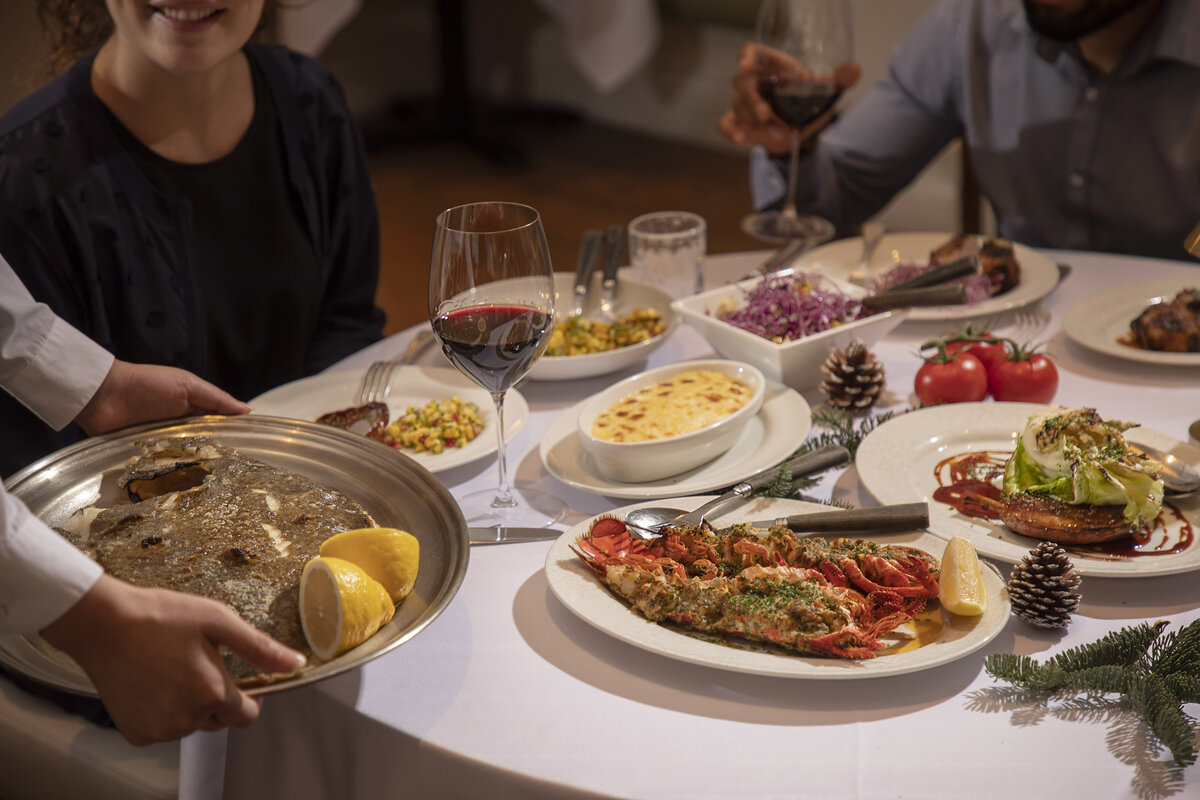 lpm restaurant festive menu