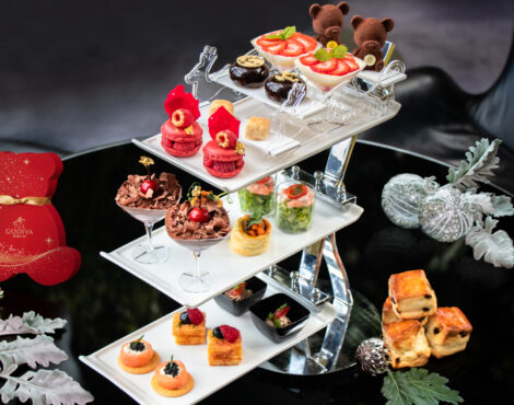 Hotel ICON Teams up with Godiva for Exquisite Festive Afternoon Tea