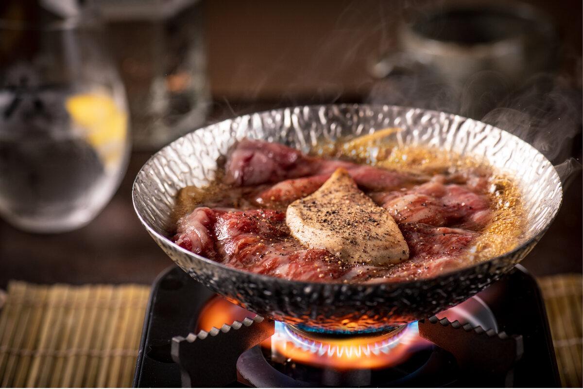 UOHARU holiday meal foie gras