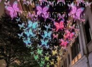 Butterflies of Hope at Lee Tung Avenue: December 3-January 10