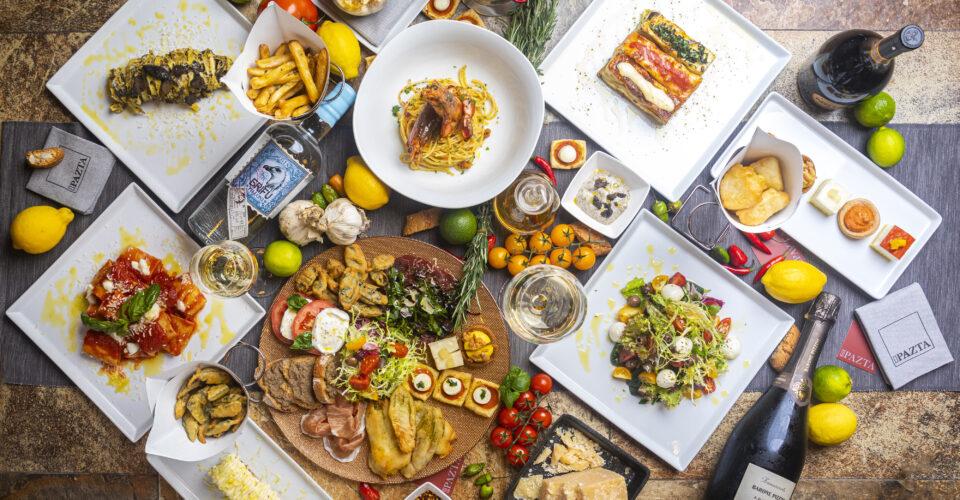 pazta food spread