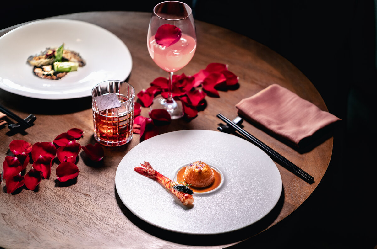 red sugar Valentine's Day 2021 meal