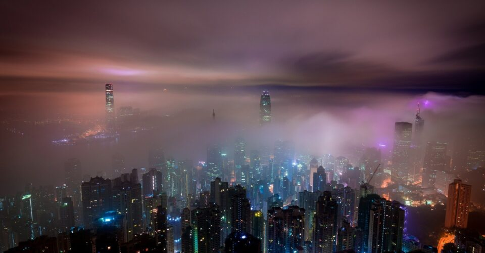 hong kong cold clouds