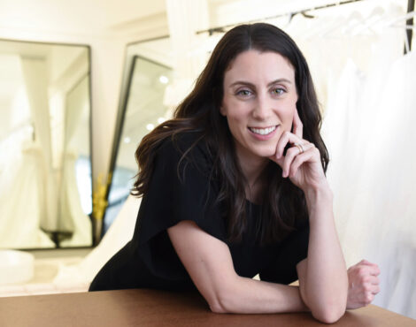 Next Up: Bridal Designer Christina Devine