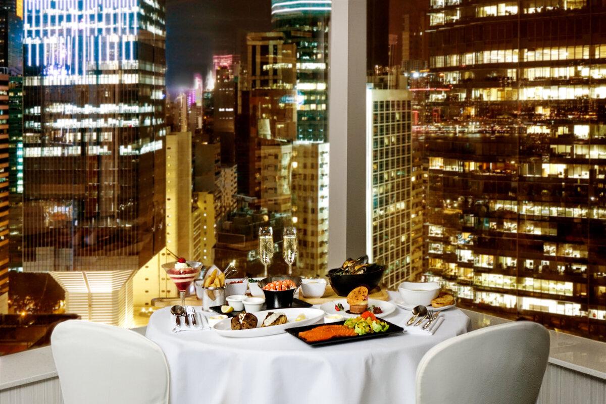 jw Marriott Hong Kong Valentine's Day 2021 staycation setup