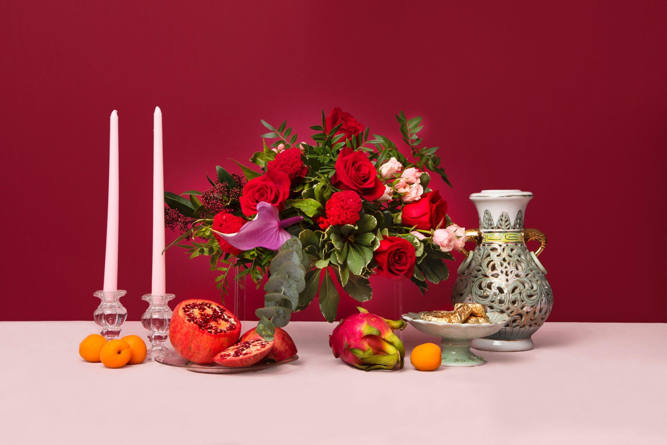 bydeau valentine's flowers