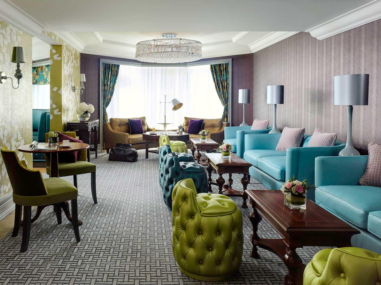 The Langham Hong Kong club lounge
