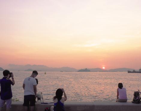 6个华丽的海滨长廊,为香港的一些户外乐趣