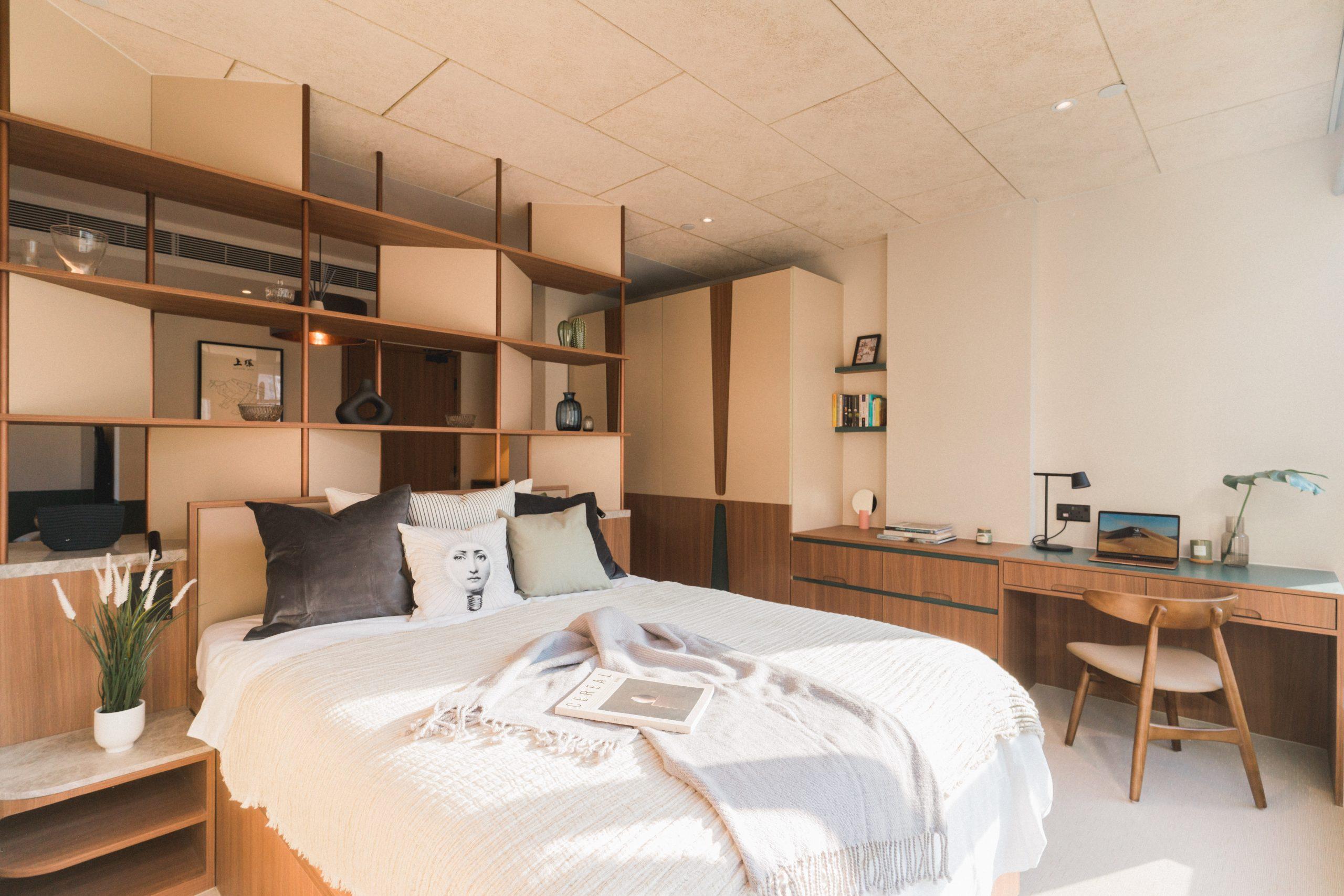 weave suites bedroom