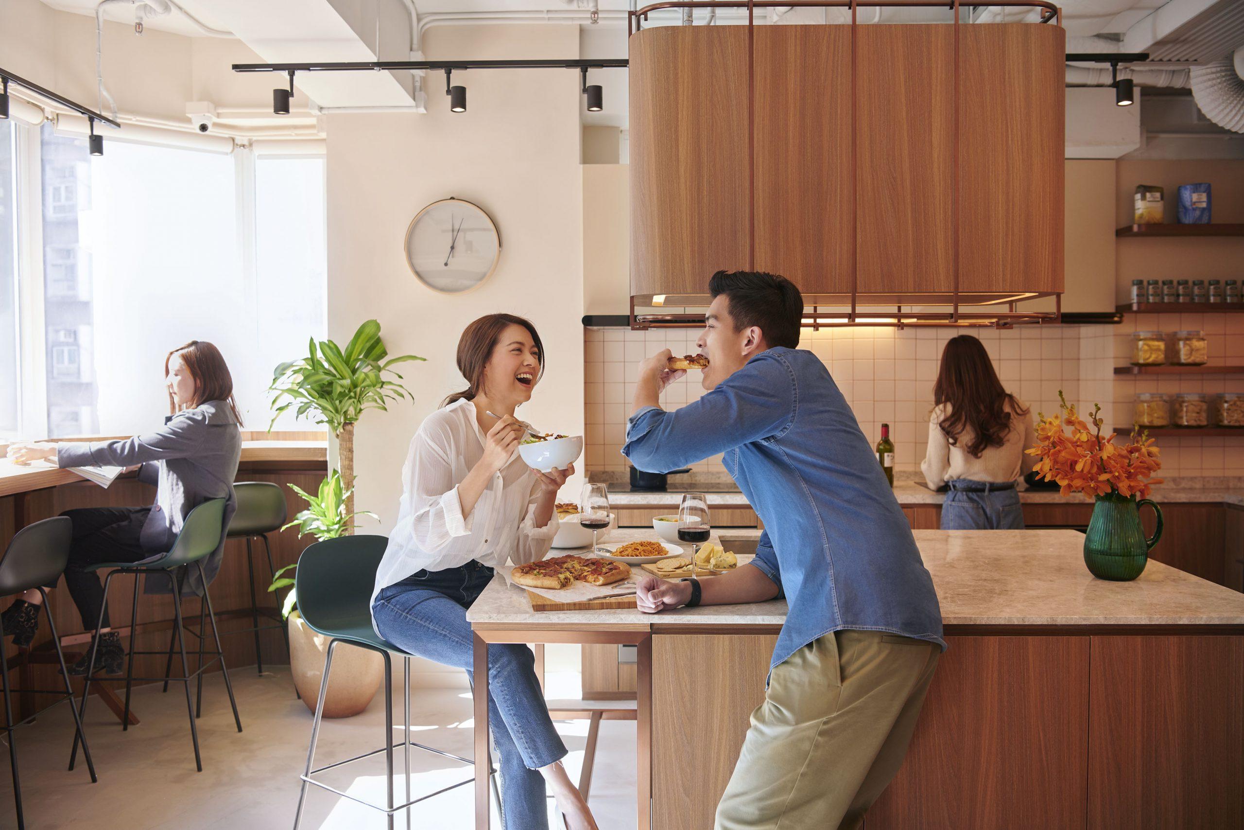weave suites kitchen