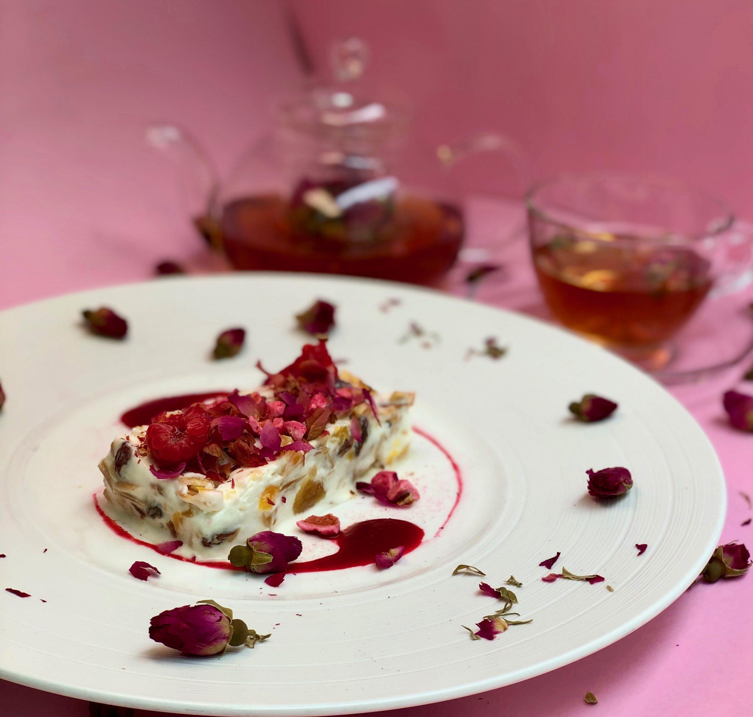 la vie en rose afternoon tea at cafe claudel