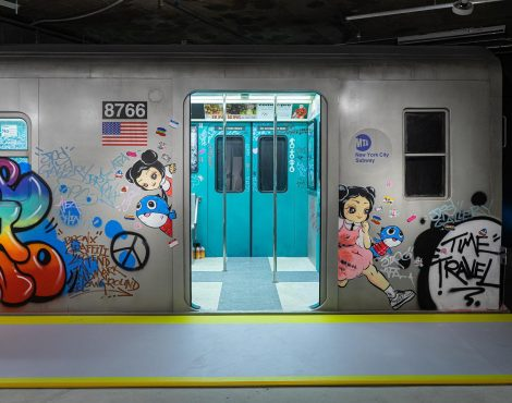 Visit This 80s New York Subway Featuring Street Art Legend Cope2 in Central