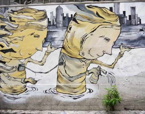 街头艺术节香港沃尔斯将在西贡突然出现