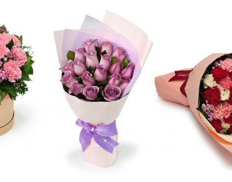 花送货香港®刺激妈妈这位母亲的一天与华丽的花束