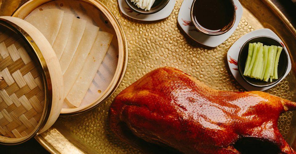 可动线圈式的北京烤鸭