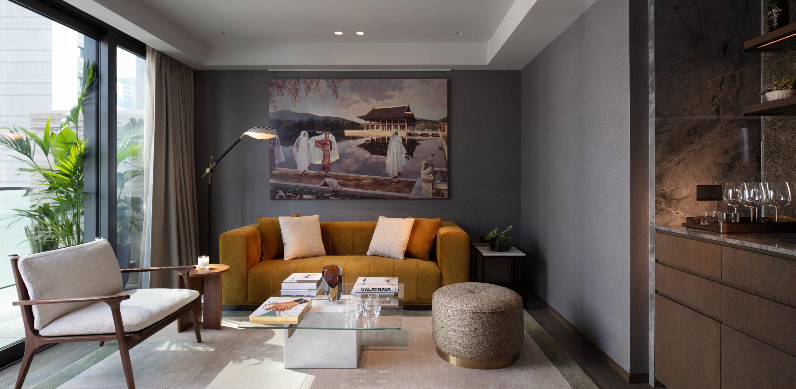 the hari Hong Kong Chesham suite