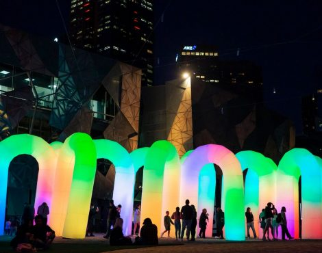 Harbourfront Promenade Transformed with Large-Scale Design Installations