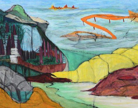 Hong Kong Artist Reinterprets Ancient Chinese Landscape Paintings